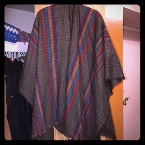 Jackets & Blazers - Poncho or cape